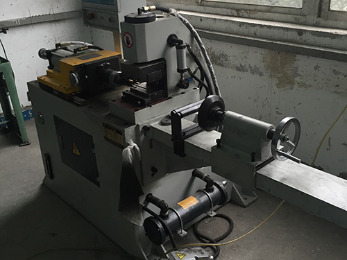 one stations end forming machine